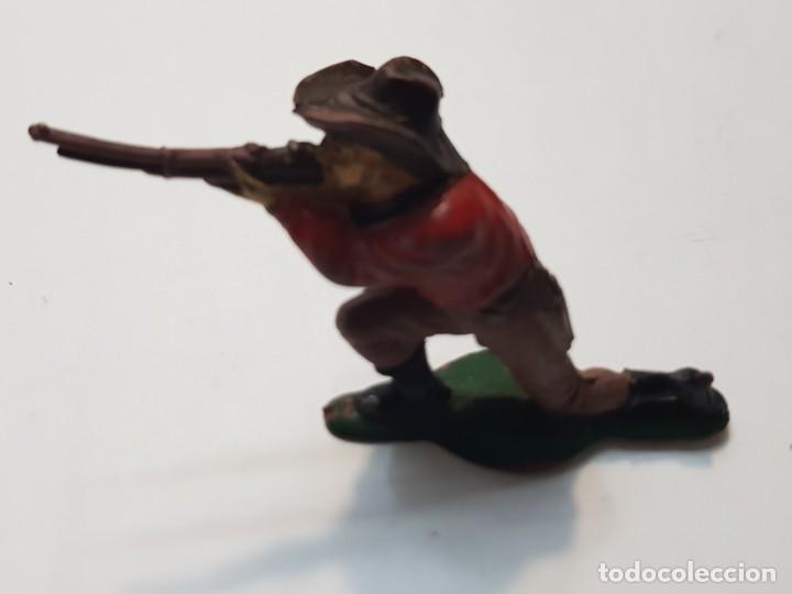 Figuras de Goma y PVC: Figura Cowboy Goma de Teixido - Foto 3 - 214372273