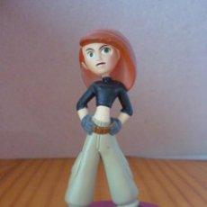 Figuras de Goma y PVC: FIGURA DE KIM POSSIBLE - DISNEY. Lote 214375120
