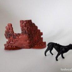 Figuras de Borracha e PVC: FIGURAS JECSAN RARO PERRO GALGO. Lote 214465065