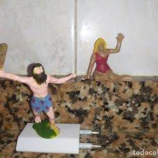 Figuras de Borracha e PVC: FIGURAS JECSAN ANTIDILUVIANOS PREHISTÓRICOS. Lote 214627913