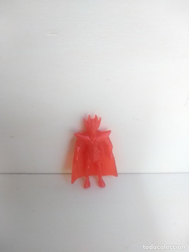 Figuras de Goma y PVC: SHAKA DE VIRGO - CABALLERO ZODIACO - FIGURA DE GOMA TIPO DUNKIN - SEMIRIGIDO - RAREZA - Foto 5 - 214638852