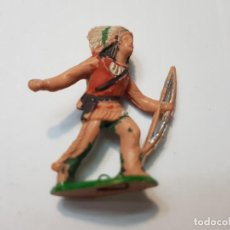 Figuras de Goma y PVC: FIGURA REAMSA INDIO CON ARCO NÚMERO 69. Lote 214761913
