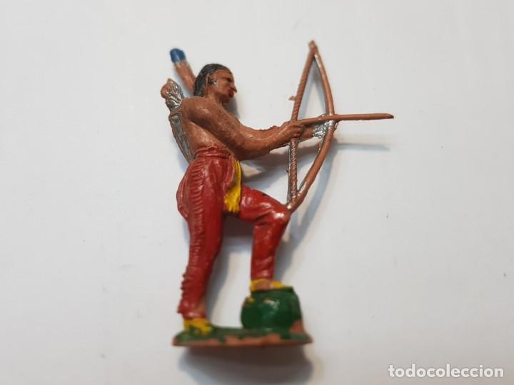 FIGURA JECSAN INDIO CON ARCO (Juguetes - Figuras de Goma y Pvc - Jecsan)