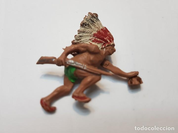 FIGURA JECSAN RASTREADOR INDIO MUY DIFICIL (Juguetes - Figuras de Goma y Pvc - Jecsan)