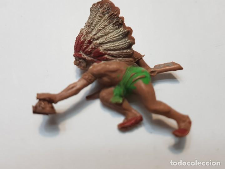 Figuras de Goma y PVC: Figura Jecsan Rastreador Indio muy dificil - Foto 2 - 214762232