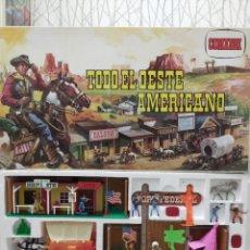 Figuras de Goma y PVC: COMANSI TODO EL OESTE AMERICANO REF. 17171. Lote 214805851