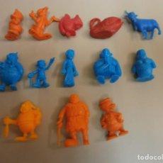 Figuras de Goma y PVC: LOTE DE FIGURAS DUNKIN. Lote 214823510