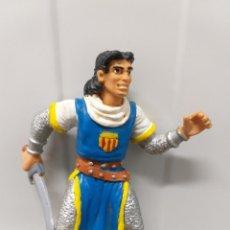 Figuras de Goma y PVC: FIGURA PVC CAPITAN TRUENO BRUGUERA COMICS SPAIN VINTAGE AÑOS 80 90. Lote 214927663