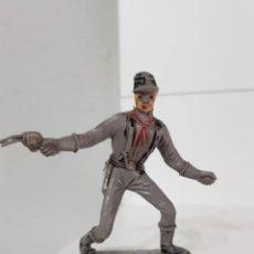 Figuras de Goma y PVC: ANTIGUA FIGURA DEL OESTE COMANSI, SOLDADO DE LA UNION. AÑOS 60. Lote 215083413
