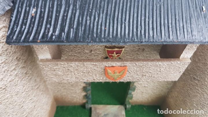 Figuras de Goma y PVC: Castillo medieval completo con soldados château-fort n° 3 ref. Ba 42103 Starlux - Foto 4 - 215087692