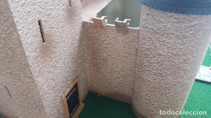 Figuras de Goma y PVC: Castillo medieval completo con soldados château-fort n° 3 ref. Ba 42103 Starlux - Foto 6 - 215087692