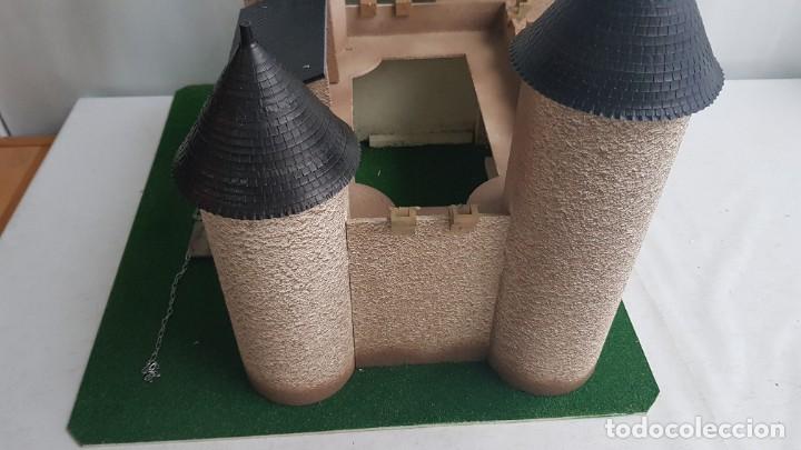 Figuras de Goma y PVC: Castillo medieval completo con soldados château-fort n° 3 ref. Ba 42103 Starlux - Foto 8 - 215087692