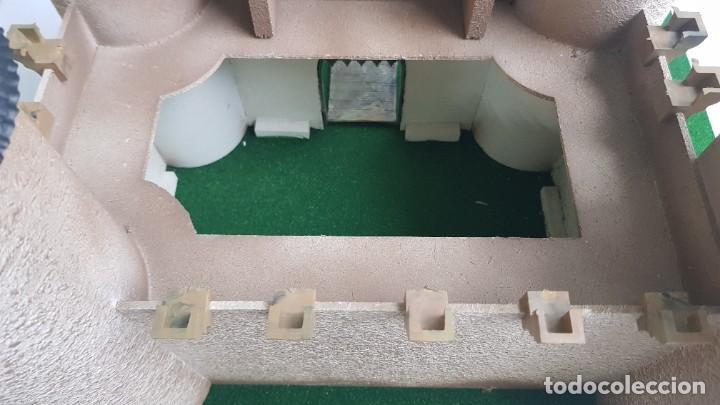 Figuras de Goma y PVC: Castillo medieval completo con soldados château-fort n° 3 ref. Ba 42103 Starlux - Foto 10 - 215087692