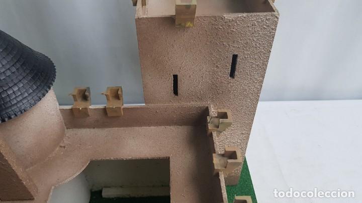 Figuras de Goma y PVC: Castillo medieval completo con soldados château-fort n° 3 ref. Ba 42103 Starlux - Foto 11 - 215087692