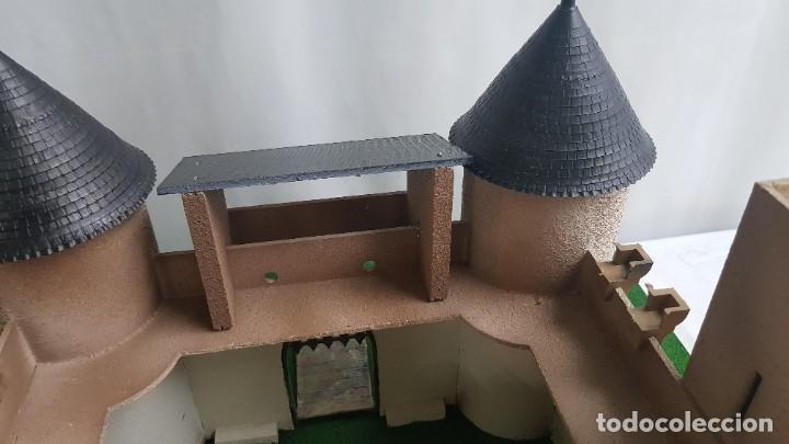 Figuras de Goma y PVC: Castillo medieval completo con soldados château-fort n° 3 ref. Ba 42103 Starlux - Foto 13 - 215087692