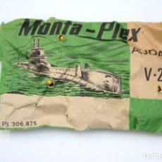 Figuras de Borracha e PVC: MONTAPLEX AUDAX V2 - SOBRE CERRADO - COLOR DEL SUBMARINO AMARILLO. Lote 215100673