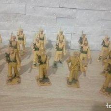 Figuras de Goma y PVC: 17 REGULARES EN DESFILE. PLASTICO. REAMSA. Lote 215119845