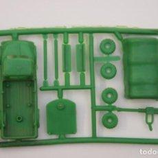 Figuras de Goma y PVC: MONTAPLEX COLADA CAMIÓN MILITAR AMETRALLADORA - AÑOS 70 - COLOR FOTO - MONTADO MIDE APROX. 6 CM.. Lote 215140317