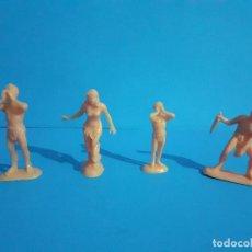 Figuras de Goma y PVC: LOTE FIGURAS TARZAN . PLASTICO.. Lote 215209963