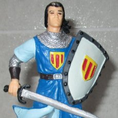 Figurines en Caoutchouc et PVC: FIGURA PVC CAPITÁN TRUENO DE YOLANDA. Lote 215289162