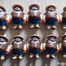 Figuras de Goma y PVC: LOTE 10 FIGURAS PVC SANCHO PANZA DON QUIJOTE EURA SPAIN COMICS SPAIN. Lote 215369997