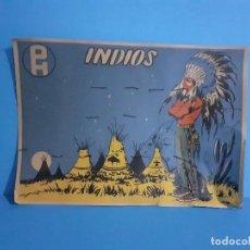 Figuras de Goma y PVC: PECH HNOS-CARTON EXPOSITOR DE VENTA DE FIGURAS DE LOS AÑOS 50. SÚPER RARO. IMPOSIBLE DE ENCONTRAR. Lote 215392867