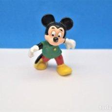 Figuras de Goma y PVC: ANTIGUA FIGURA EN GOMA/PVC PERSONAJE MICKEY MOUSE. DISNEY.. Lote 215437052