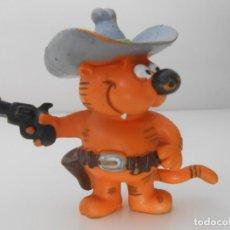 Figuras de Goma y PVC: FIGURA GOMA PVC GATO ISIDORO CAT AÑOS 80 ALFREEDOM COMIC SPAIN. Lote 215437290