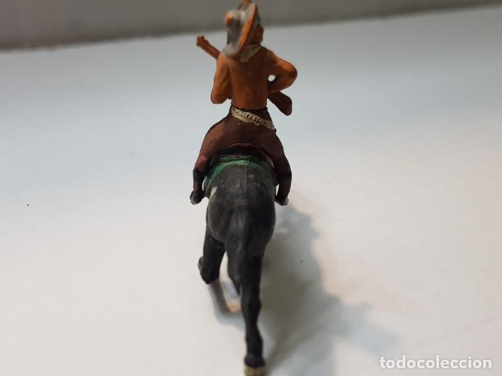 Figuras de Goma y PVC: Figura Vaquero con Rifle en Goma de Gama articulada - Foto 4 - 215482027