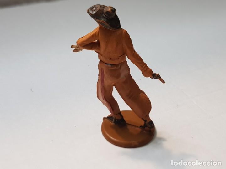 Figuras de Goma y PVC: Figura Vaquero herido flecha en Goma de Gama articulada - Foto 2 - 215482836