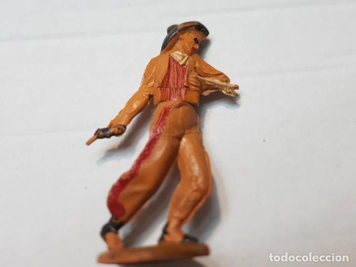 Figuras de Goma y PVC: Figura Vaquero herido flecha en Goma de Gama articulada - Foto 4 - 215482836