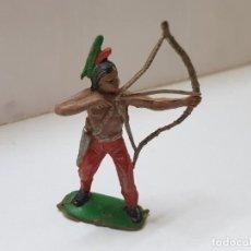 Figuras de Borracha e PVC: FIGURA INDIO CON ARCO COMANSI PRIMERA SERIE. Lote 215565790