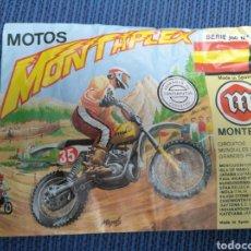 Figuras de Goma y PVC: SOBRE MONTAPLEX ORIGINAL AÑOS 70 MOTO MONTESA, SERIE 500, Nº 6. Lote 215571713
