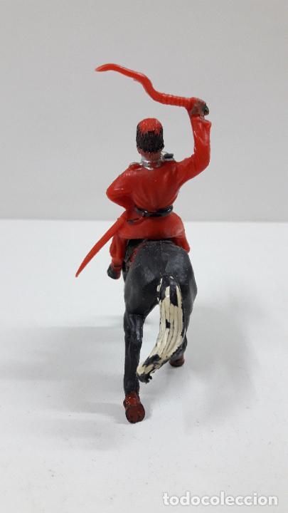 Figuras de Goma y PVC: COSACO A CABALLO . REALIZADO POR LAFREDO . ORIGINAL AÑOS 60 - Foto 4 - 215582867