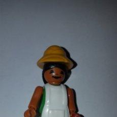 Figuras Kinder: FIGURA KINDER FERRERO ANTIGUA VETERINARIA MONO STECKFIGUREN PLAYMOBIL COLECCIÓN MUÑECO. Lote 215642463