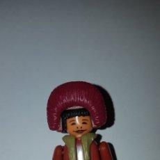 Figuras Kinder: FIGURA KINDER FERRERO ANTIGUA ESQUIMAL MONTABLE MUÑECO COLECCIÓN STECKFIGUREN PLAYMOBIL. Lote 215642560