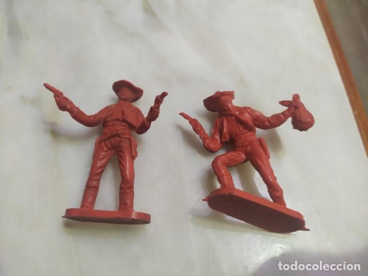 Figuras de Goma y PVC: Figuras comansi primera epoca pvc oeste indios vaqueros - Foto 3 - 255920780