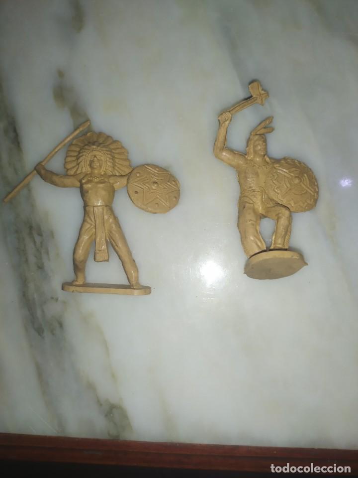 Figuras de Goma y PVC: Figuras comansi primera epoca pvc oeste indios vaqueros - Foto 3 - 260419145