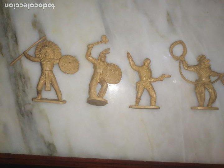 FIGURAS COMANSI PRIMERA EPOCA PVC OESTE INDIOS VAQUEROS (Juguetes - Figuras de Goma y Pvc - Lafredo)