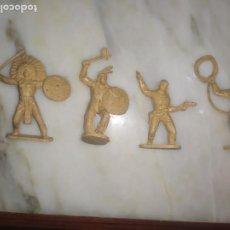 Figuras de Goma y PVC: FIGURAS COMANSI PRIMERA EPOCA PVC OESTE INDIOS VAQUEROS. Lote 260419145