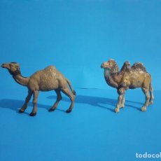 Figuras de Goma y PVC: LOTE FIGURAS GOMA CIRCO JECSAN CAMELLO Y DROMEDARIO.. Lote 215684640