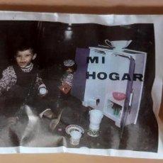 Figuras de Goma y PVC: SOBRE MONTAMAN O MONTAPLEX SIN ABRIR, MI HOGAR.. Lote 215696648