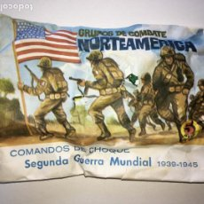 Figuras de Goma y PVC: SOBRE MONTAPLEX NORTEAMERICA - SOBRE CERRADO. Lote 268164264