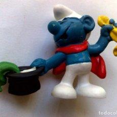 Figuras de Goma y PVC: PITUFO-SMURF-SCHLUMPF-PEYO-SCHLEIGH-MADE IN GERMANY 1980.. Lote 215789336