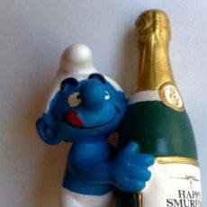 Figuras de Goma y PVC: PITUFO-SMURF-SCHLUMPF-PEYO-SCHLEIGH-MADE IN GERMANY.. Lote 215789507