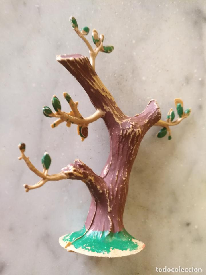 Figuras de Goma y PVC: FIGURA DE PLASTICO , COMPLEMENTO, SAFARI, ARBOL SIN CAZADOR, PECH HERMANOS - Foto 5 - 215801102
