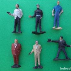 Figuras de Goma y PVC: LOTE DE 6 FIGURAS DE LA COLECCION JAMES BOND 1960'S. Lote 215814965