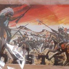 Figuras de Goma y PVC: SOBRE MONTAMAN O MONTAPLEX , NUNCA ABIERTO, OESTE.. Lote 215825763