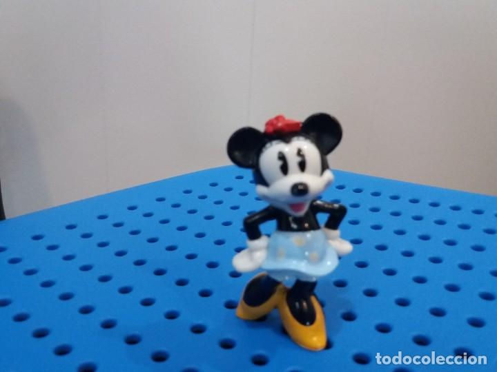 Figuras de Goma y PVC: Bonita Figura de Minnie Mouse. Dibujo clásico. Disney. Pareja de Mickey. Plástico duro. - Foto 2 - 215875115