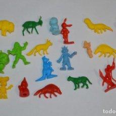 Figuras de Goma y PVC: VARIADAS COLECCIONES / LOTE DE FIGURAS / FIGURITAS / TIPO/TAMAÑO DUNKIN Y SIMILARES - ¡MIRA! LOTE 05. Lote 215894211